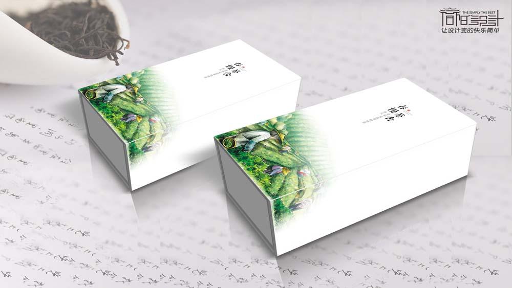 杭州春慢茶舍包装设计