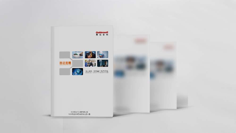 高达软件股份有限公司画册设计
